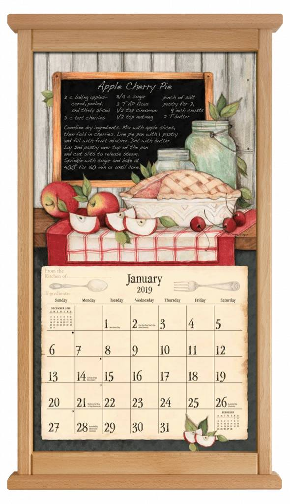 Buchenholtz Kalenderrahmen Modern | The Lang Store
