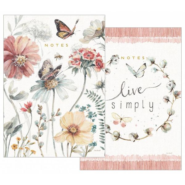 LEGACY BUTTERFLY GARDENS notebook set