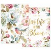FLORAL BLUE BIRD notebook set
