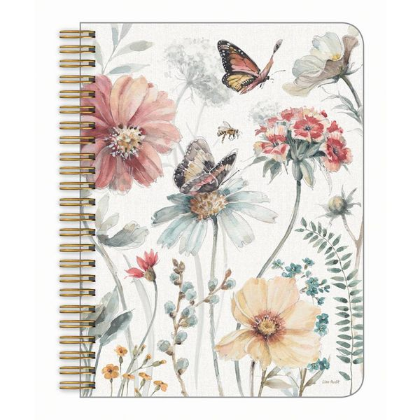 Legacy BUTTERFLY GARDENS medium notebook