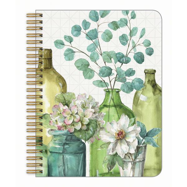 LEGACY GREENERY BOTTLES medium notebook