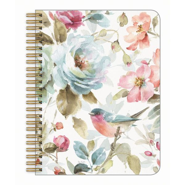 LEGACY FLORAL BLUE BIRD medium notebook
