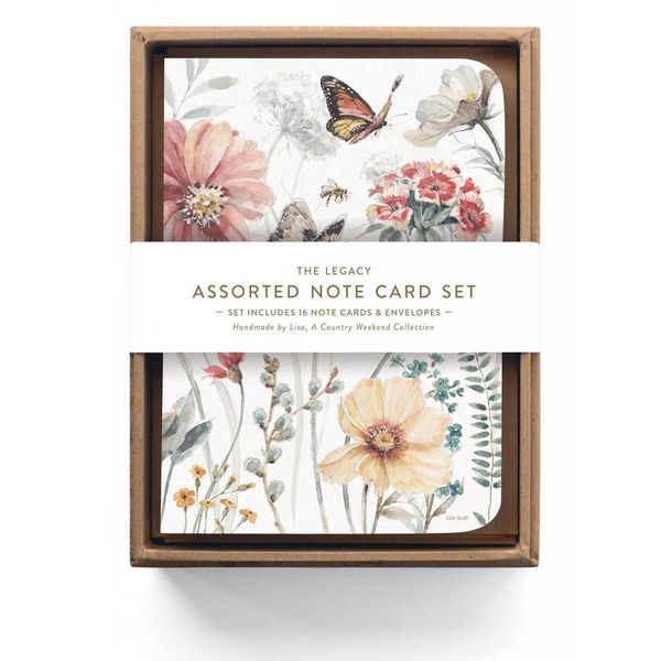 LEGACY BUTTERFLY GARDEN Assorted note cards