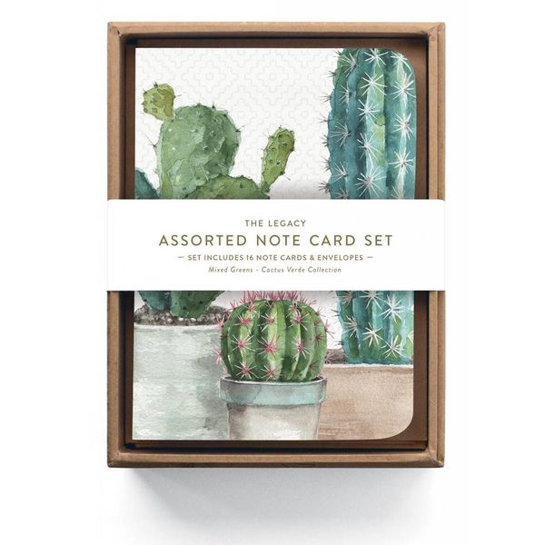 Legacy Cactus Trio Assorted Note Cards