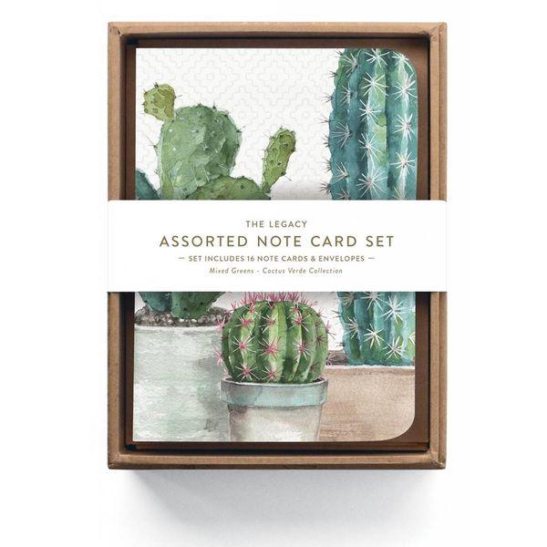 Legacy Cactus Trio Sortierte Notizkarten
