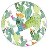 DELIGHTFUL DAYS 6 round corc backed coasters