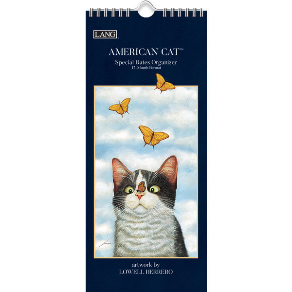 Lang American Cat Special Dates Organizer
