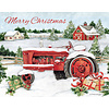 Snowy Tractor  Boxed Christmas Cards
