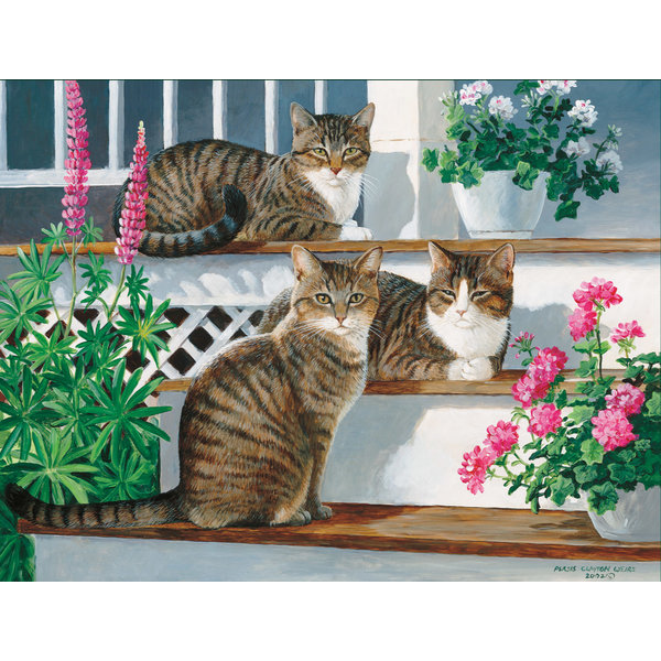 Lang Sleepy Cats Note Cards