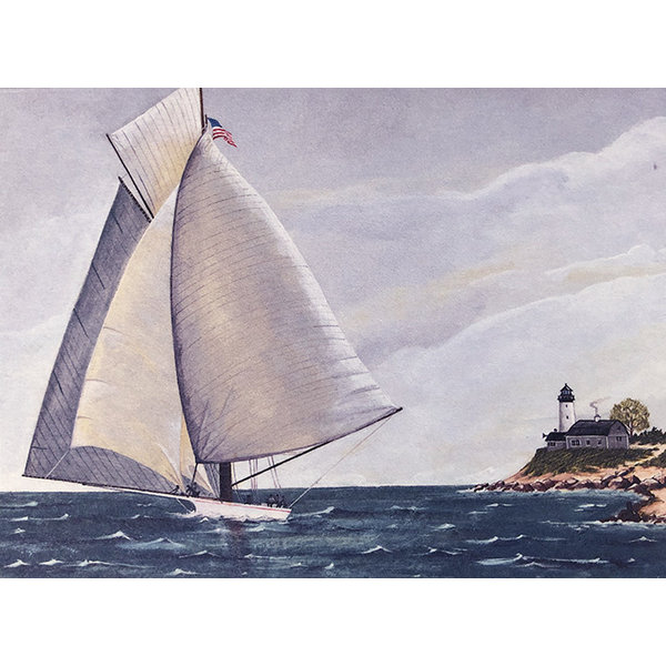 Legacy Sail Boat Boxed Note Cards