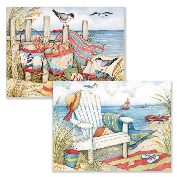 Lang Just Beachy Assorted Boxed Note Cards