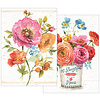 Colorful Floral notebook set