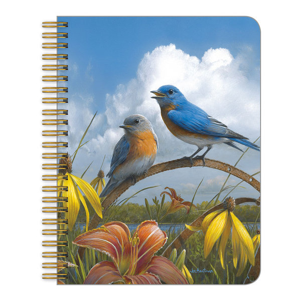 Legacy Forgotten Garden medium notebook