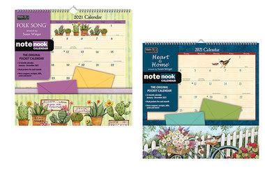Note Nook Pocket Calendar 2021