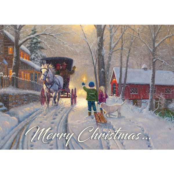 Legacy Christmas Friends Sortiment Weihnachtskarten.