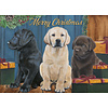 Christmas Labs assorted Holiday Cards.