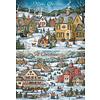 Country Village Christmas Sortiment Weihnachtskarten.