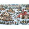 Country Village Christmas assorti Kerstkaarten.