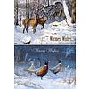 Wildlife Winter Sortiment Weihnachtskarten.