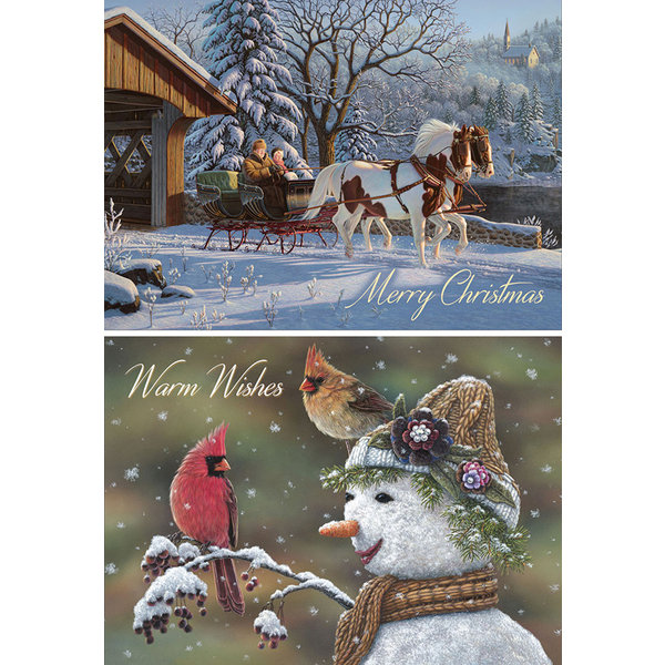 Legacy Winter Memories assorted Holiday Cards.