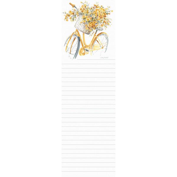 Legacy Happy Yellow Bike Listpad
