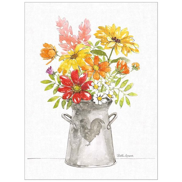 Legacy Flowers in Pitcher Note Card