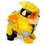 Spin Master PAW Patrol Mighty Pups Charged Up figuur Rubble