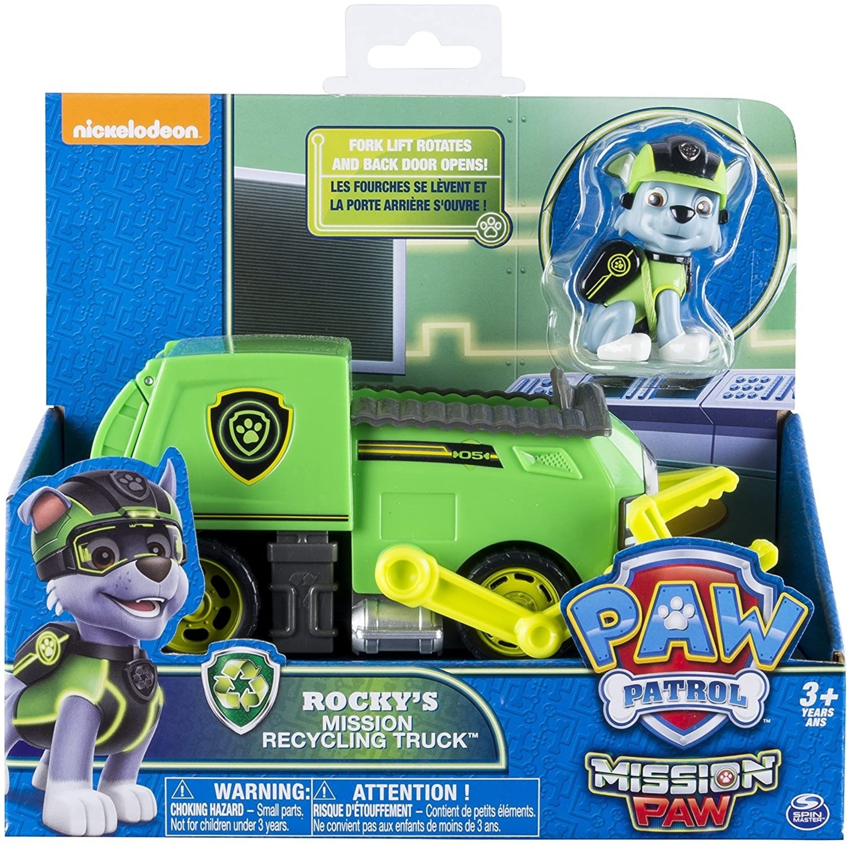 Spin Master PAW Patrol Rocky's Mission Recycling Truck