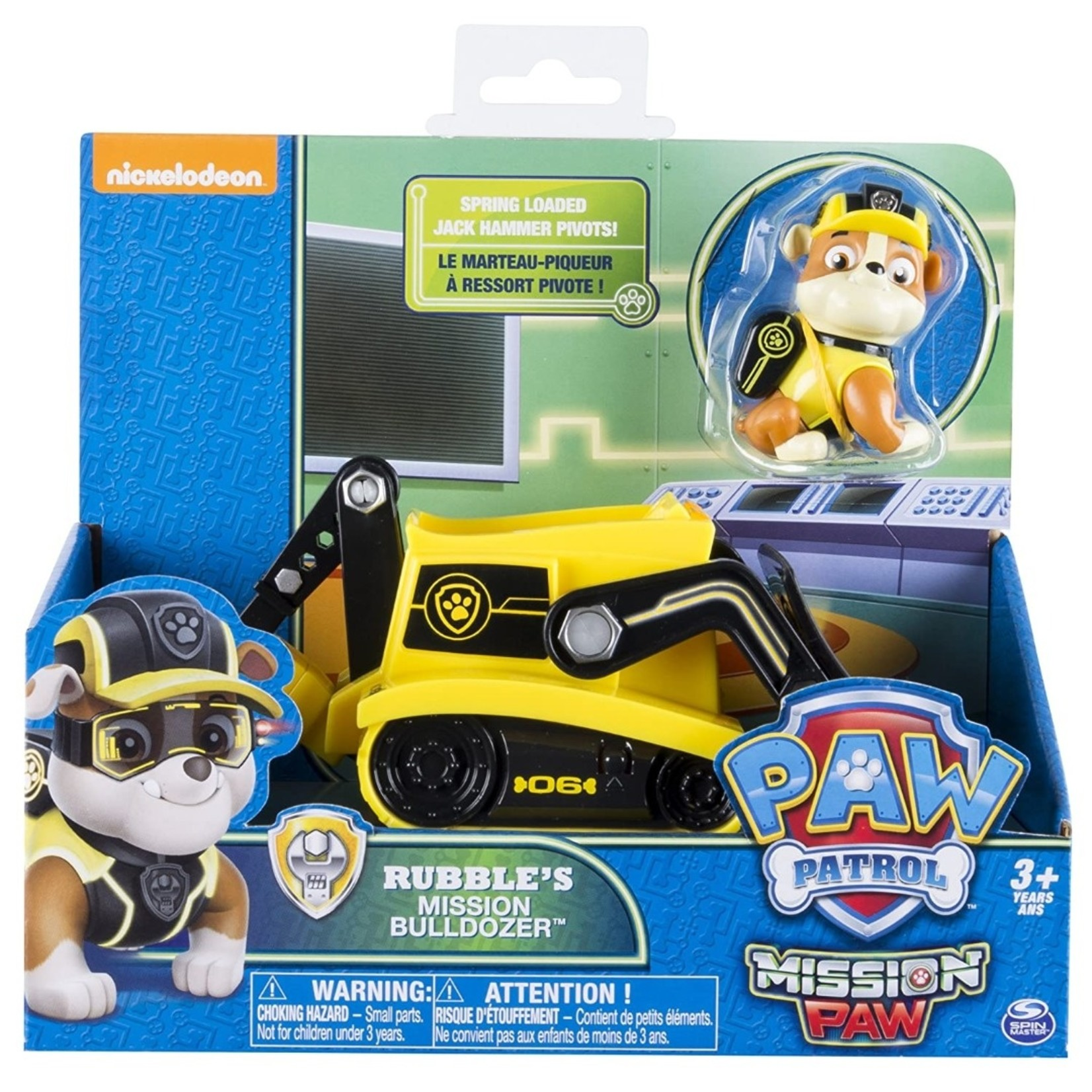Spin Master PAW Patrol Rubble's Mission Bulldozer