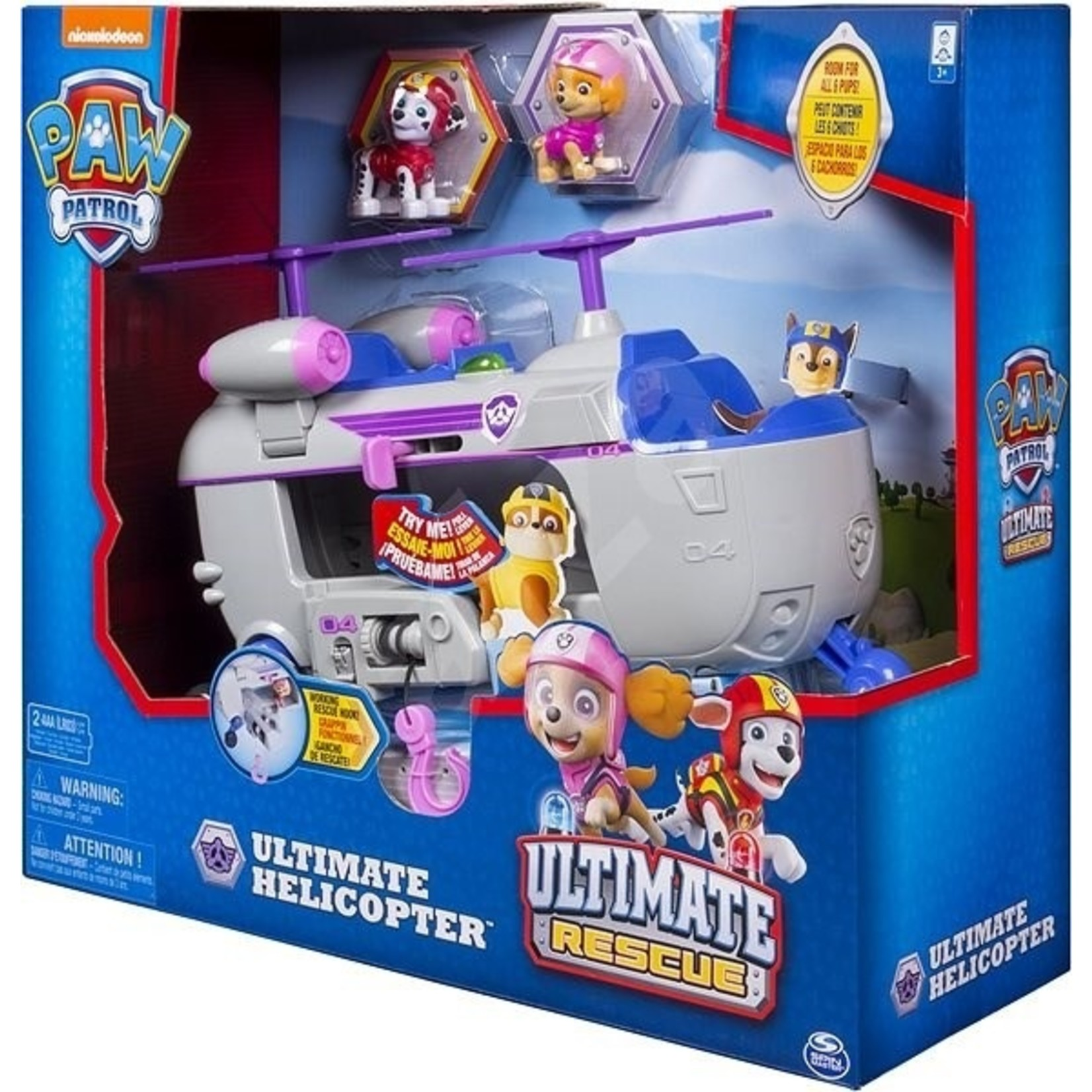 Spin Master PAW Patrol Ultimate Rescue Skye Helicopter