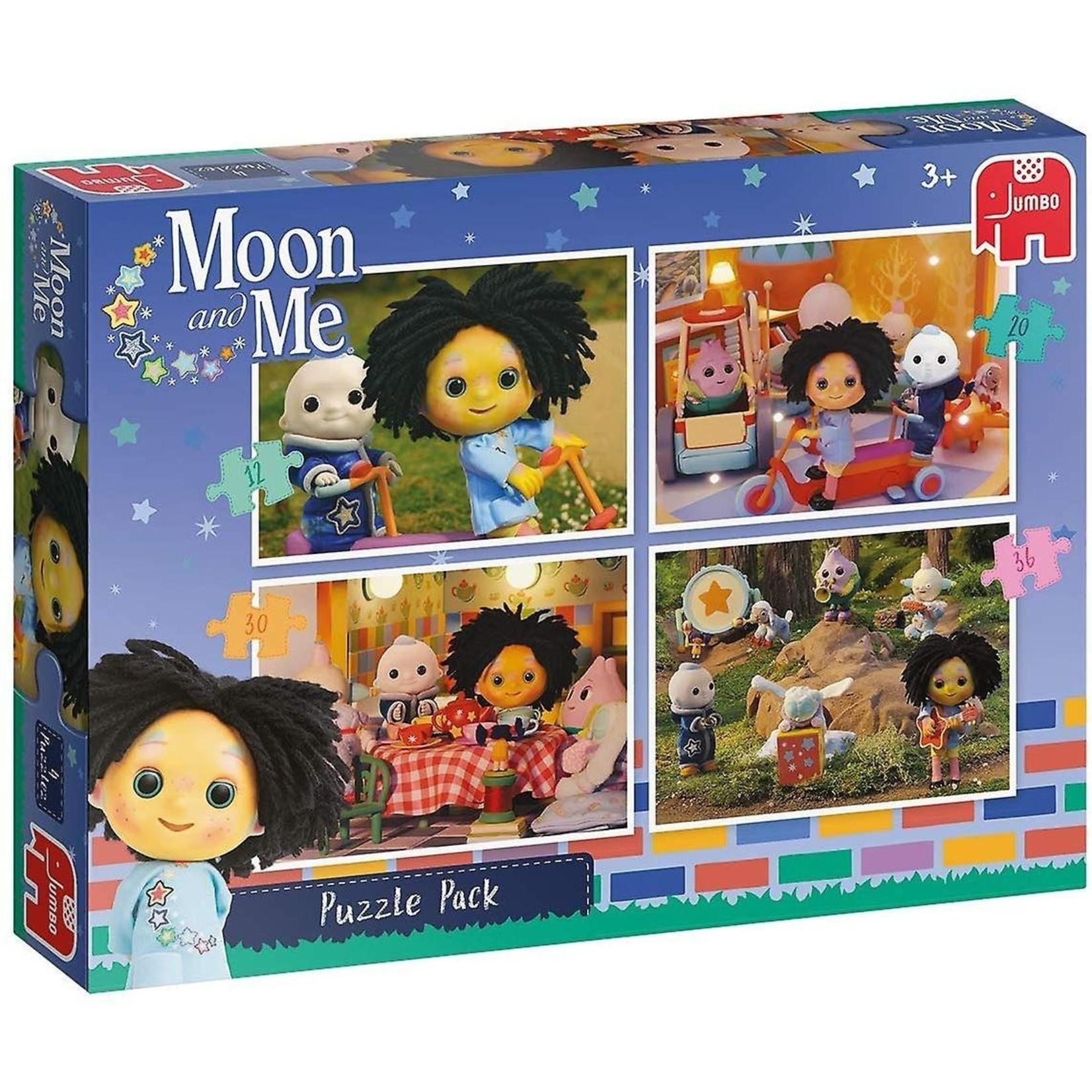 Jumbo Maan en Ik Puzzel 4 in 1