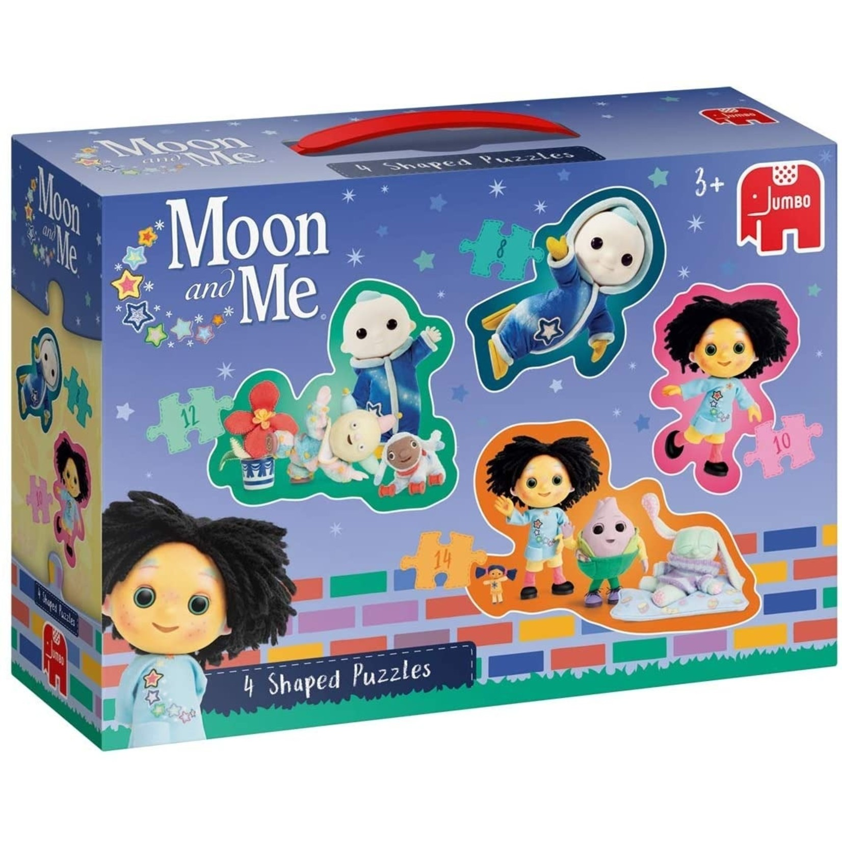 Jumbo Maan en Ik 4 in 1 Gevormde Puzzel