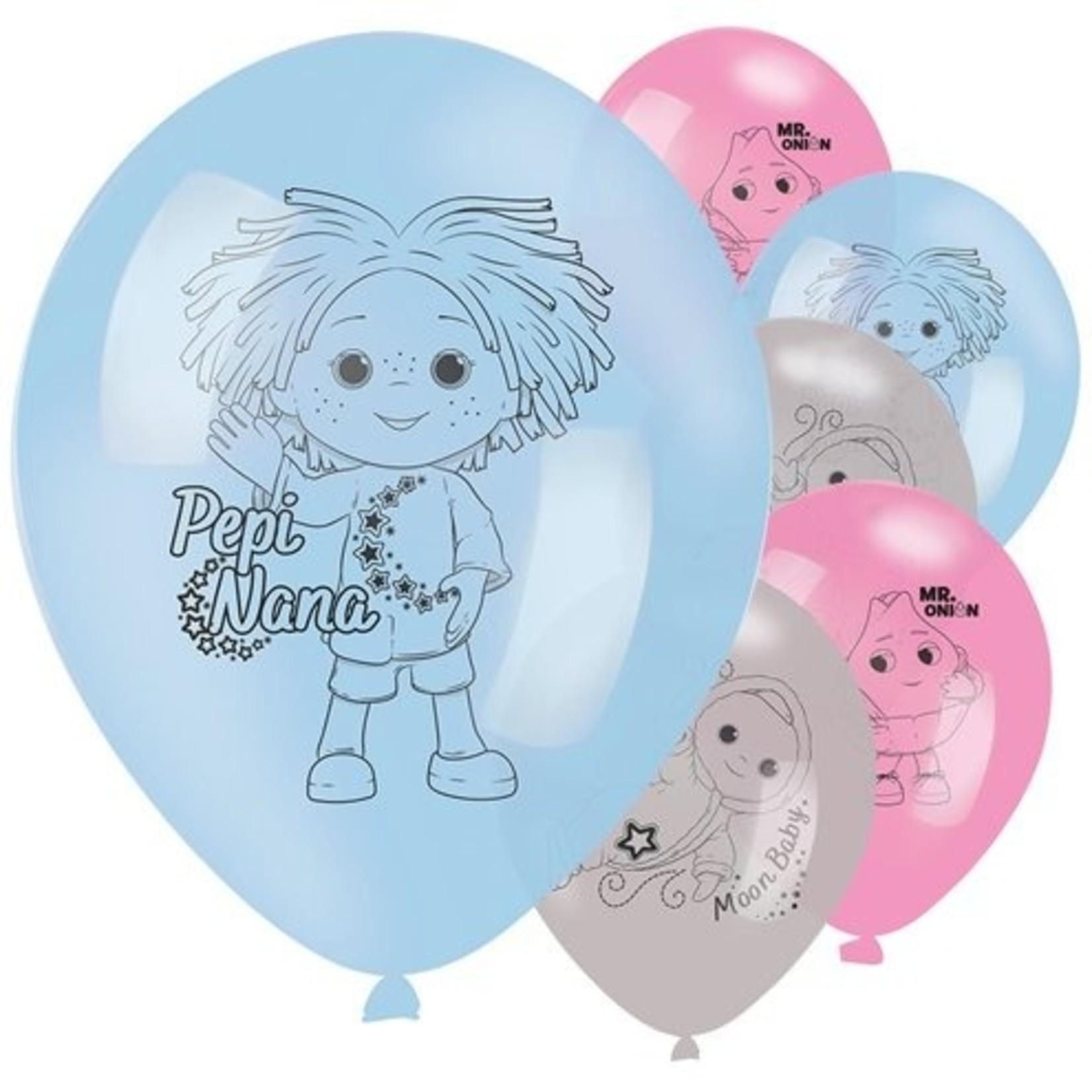 Amscan Maan en Ik Ballonnen