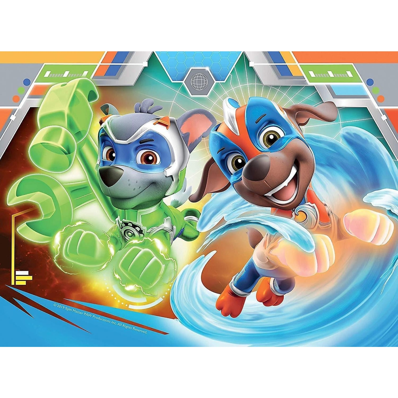 Ravensburger PAW Patrol 4 in 1 Mighty Pups Puzzle Ravensburger