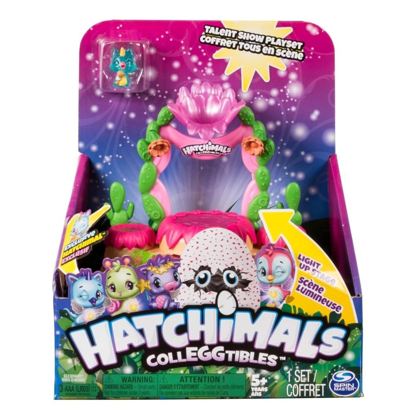 Spin Master Hatchimals CollEGGtibles Talent Show Playset