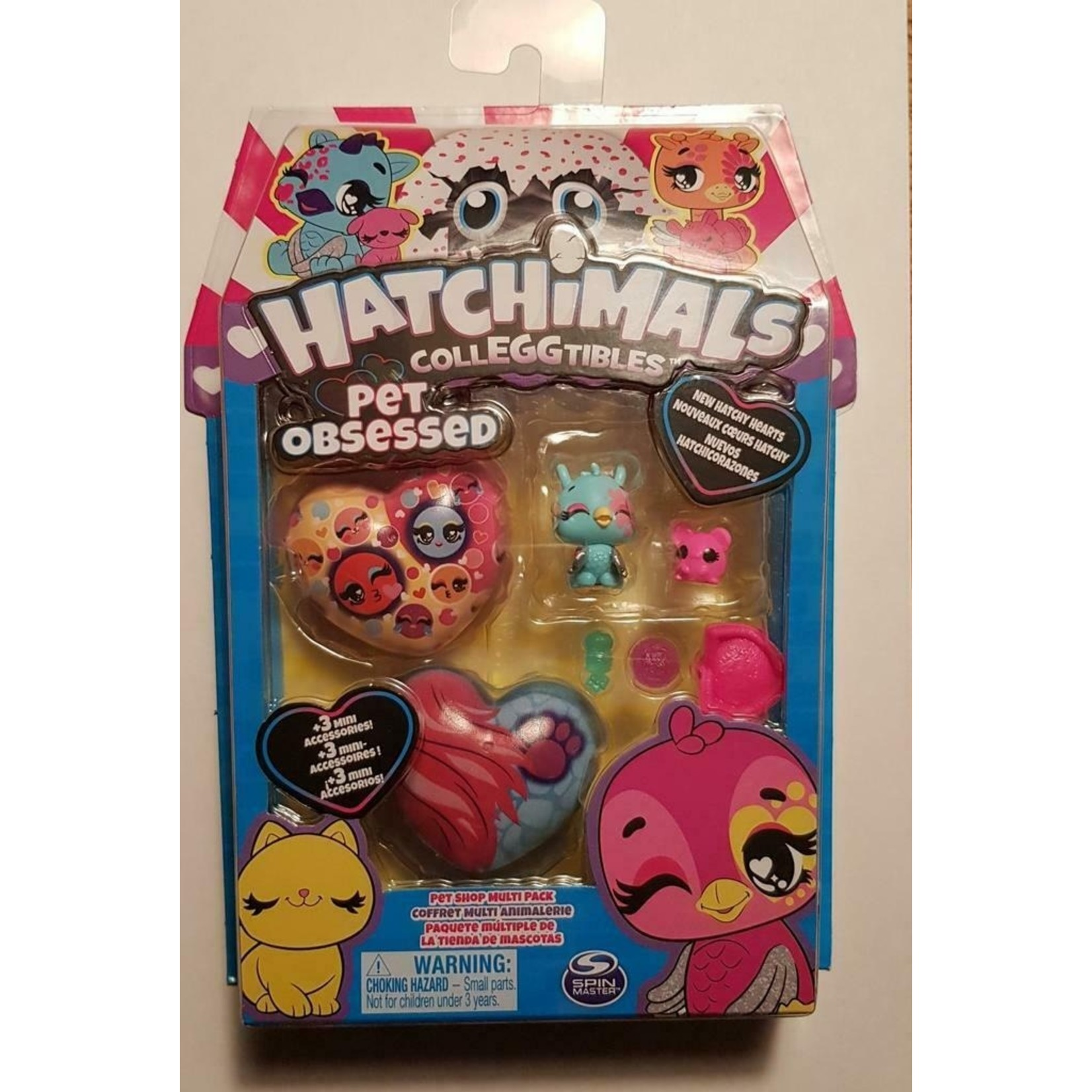 Spin Master Hatchimals CollEGGtibles Pet Obsessed