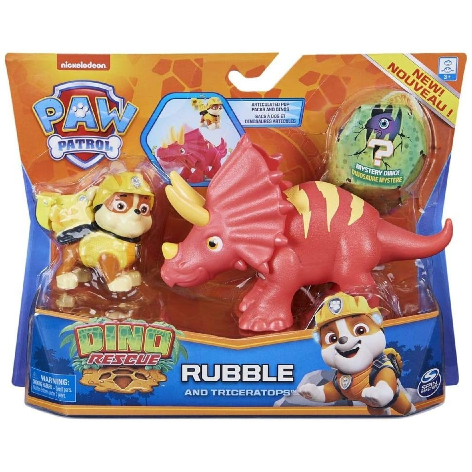 Spin Master Paw Patrol Dino Rubble