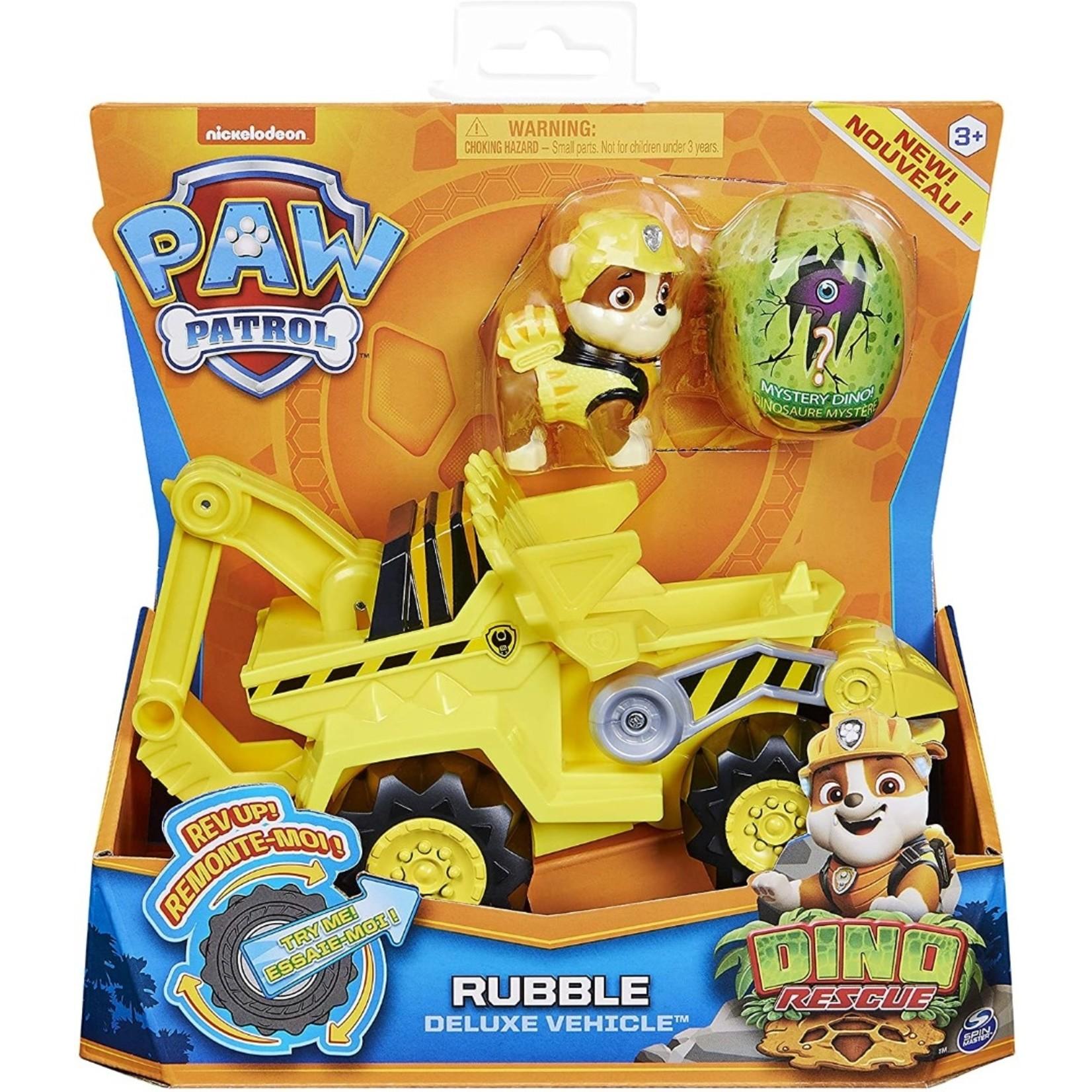 Spin Master Paw Patrol Dino Rubble met Voertuig