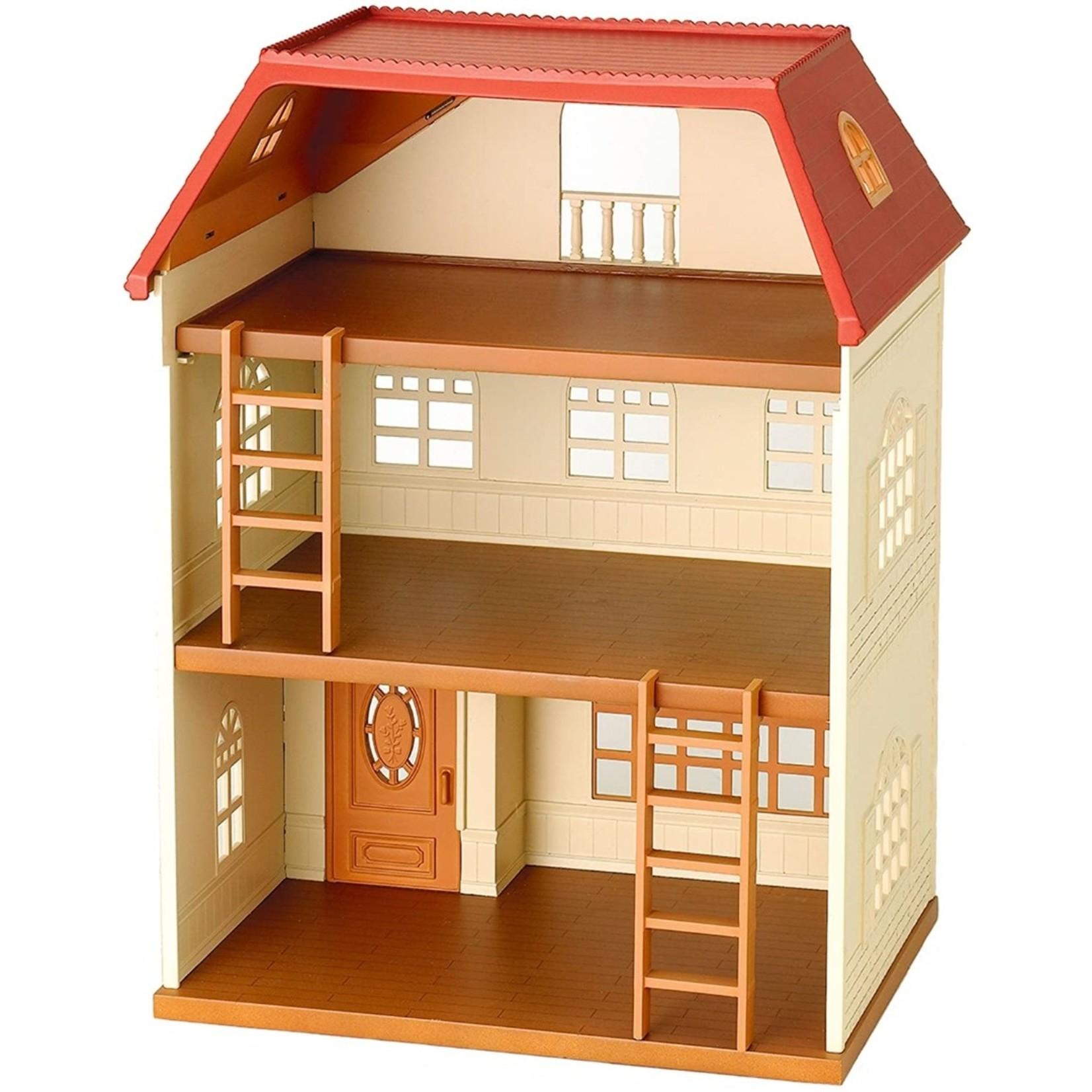 Sylvanian Families drie verdiepingen