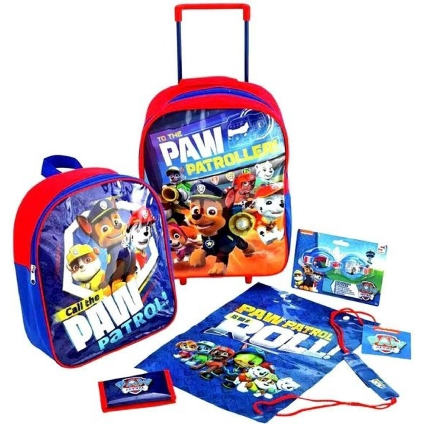 Paw patrol kofferset 5 delig