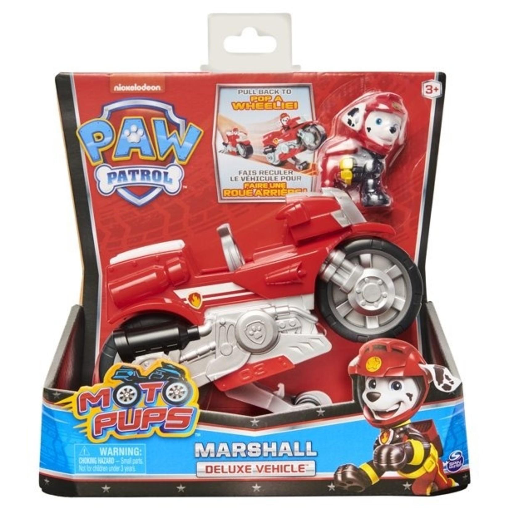 Spin Master Paw Patrol Moto Themed Marshall