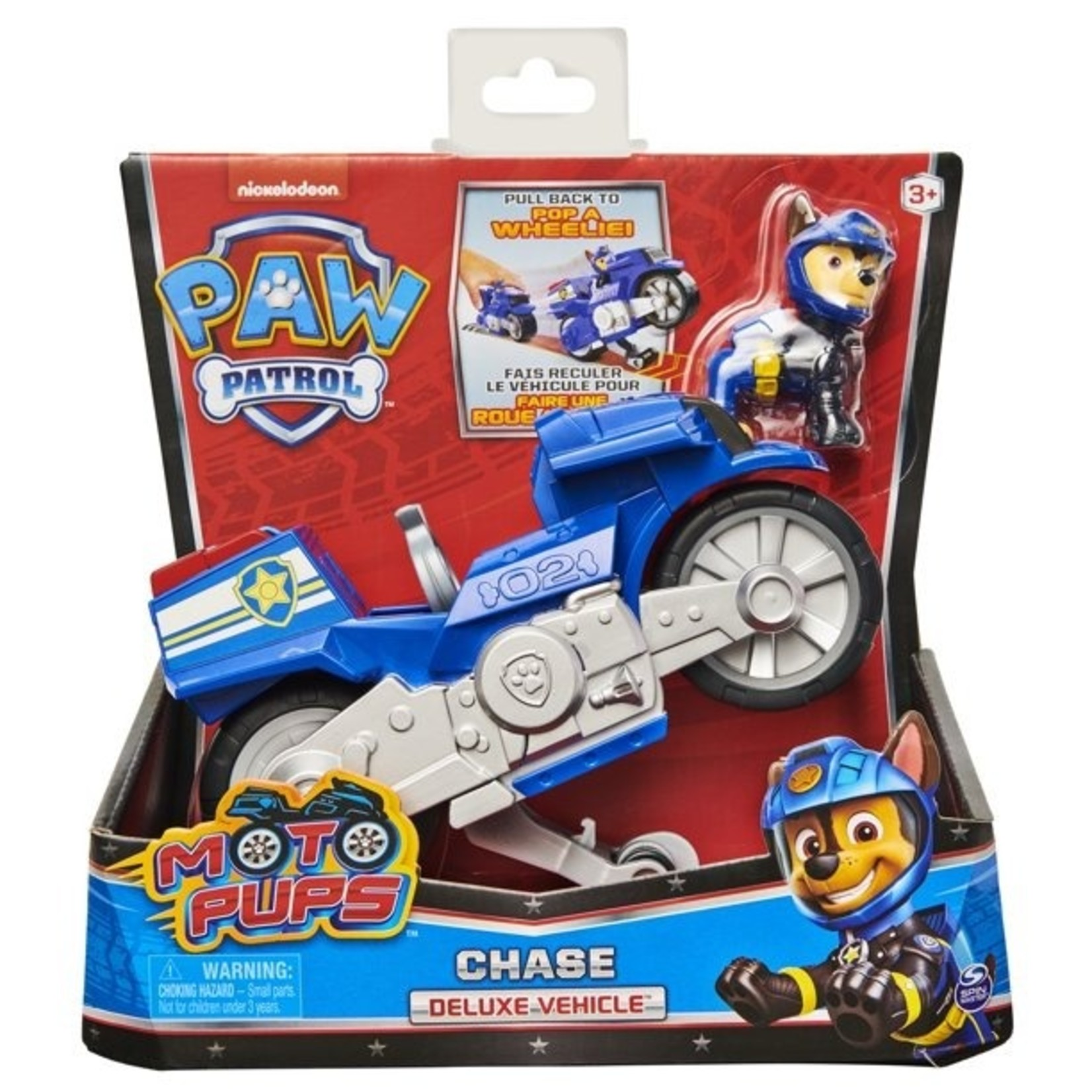 Spin Master Paw Patrol Moto Themed Chase