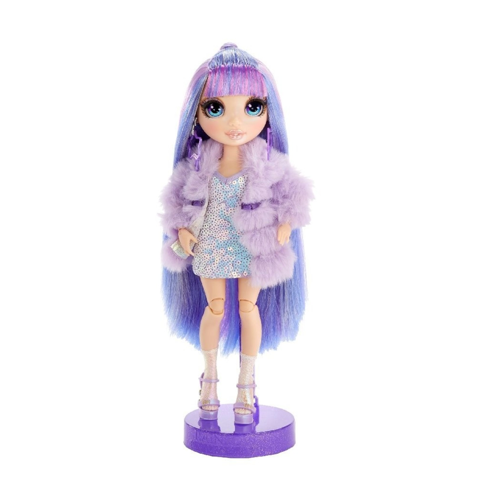 MGA Entertainment Rainbow High Doll Violet Willows