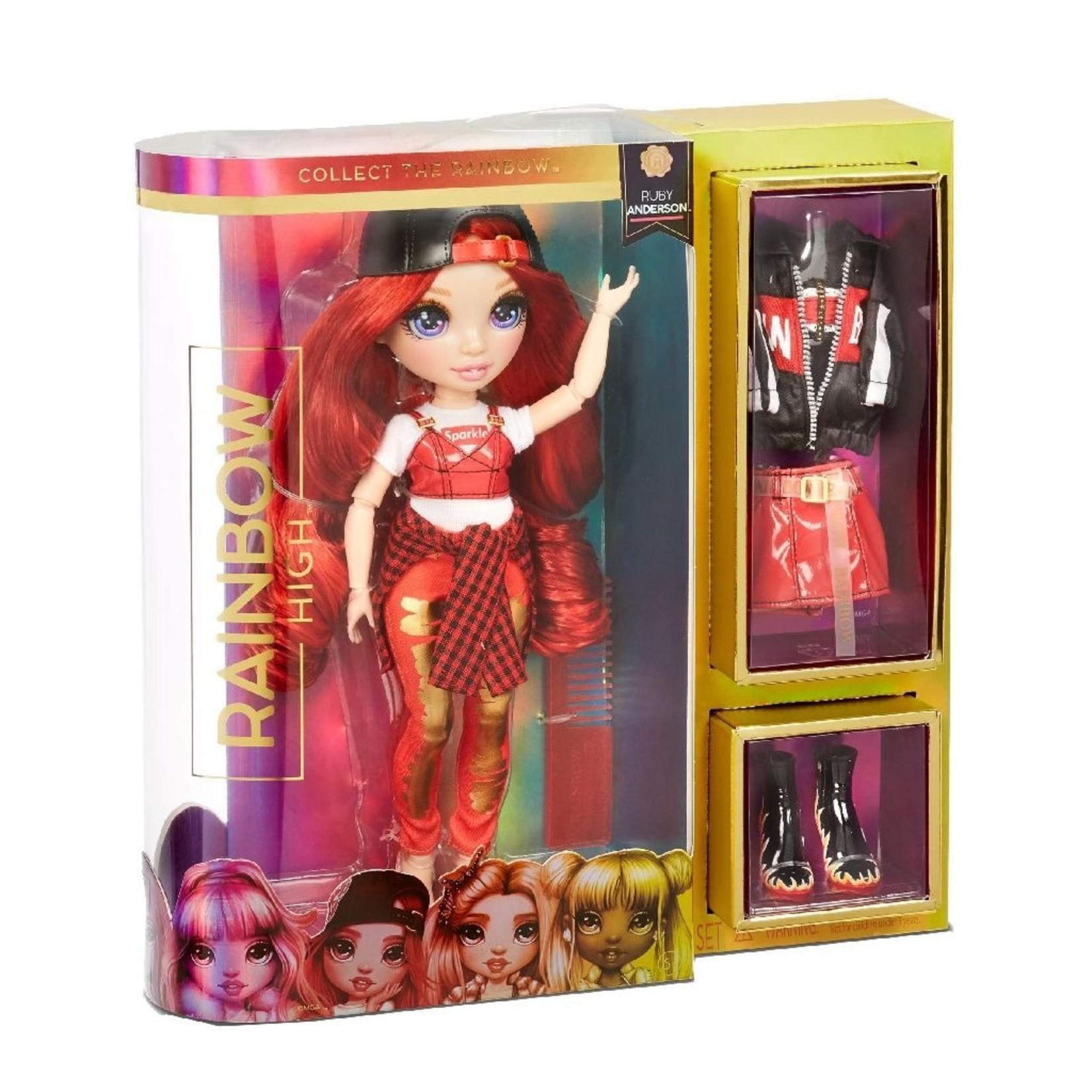 MGA Entertainment Rainbow High Doll Ruby Anderson