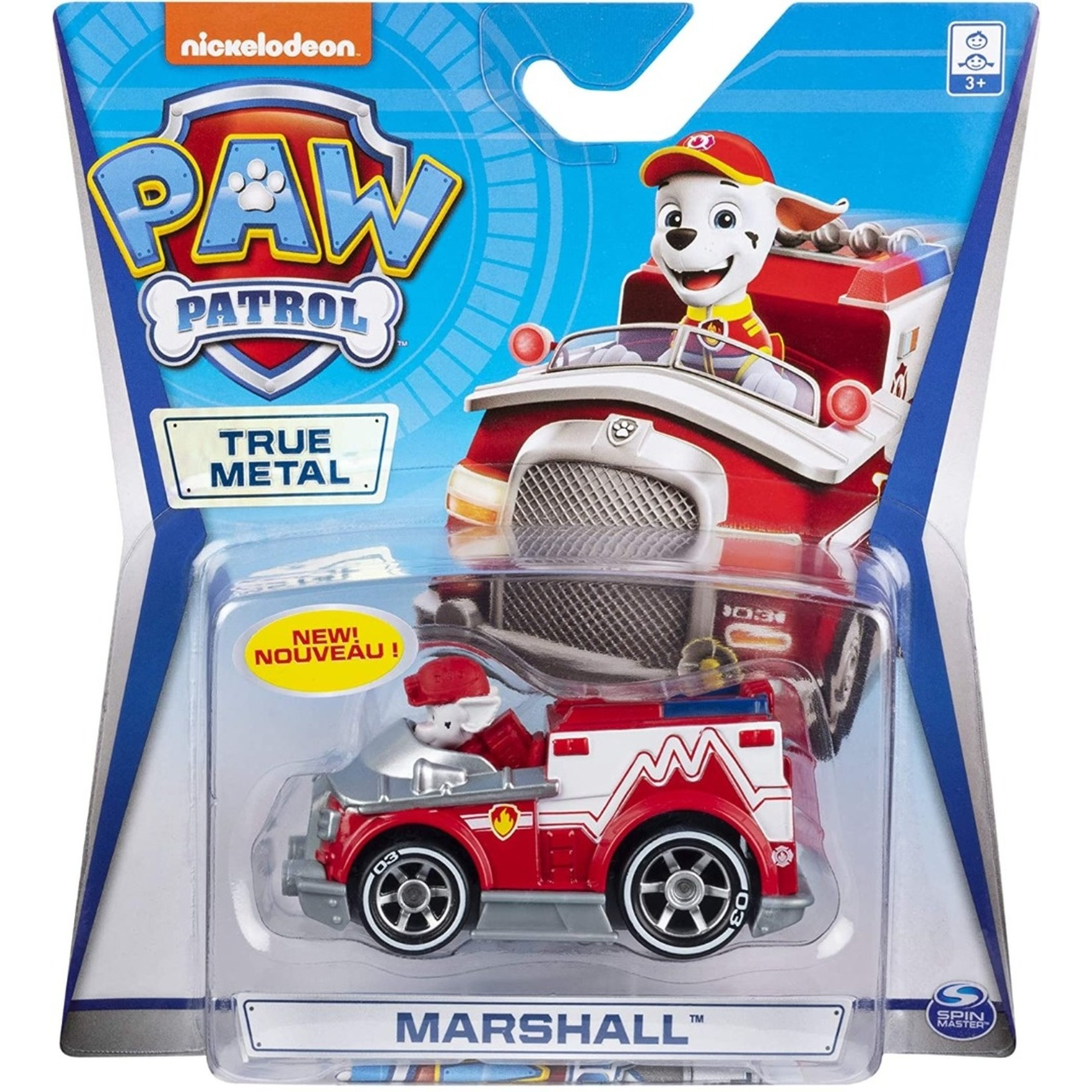 Spin Master Paw Patrol True Metal Marshall
