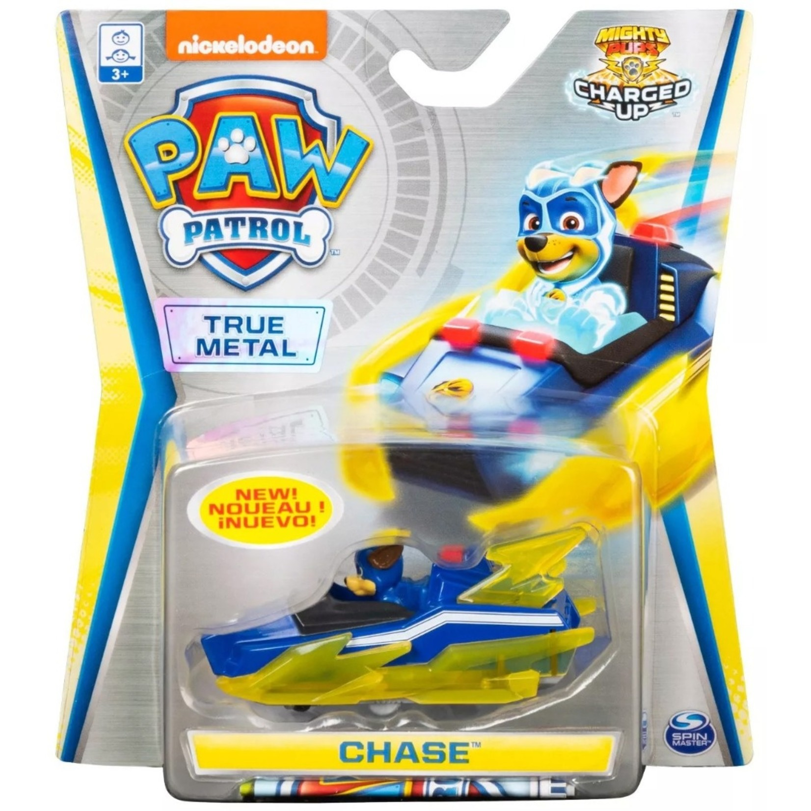 Spin Master Paw Patrol True Metal Charged Up Chase