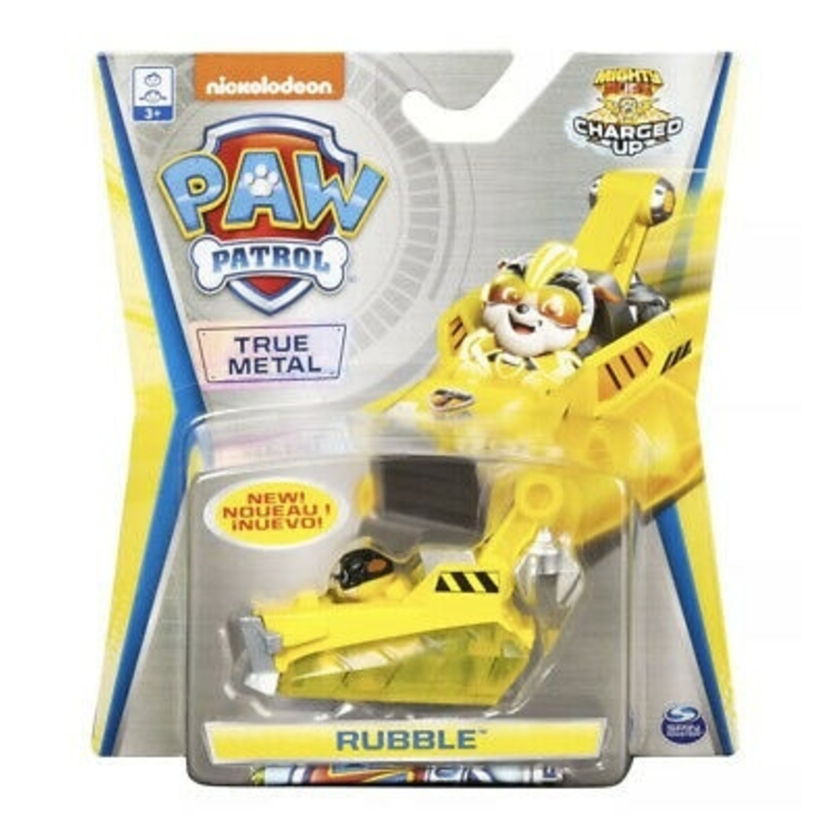 Spin Master Paw Patrol True Metal Charged Up Rubble