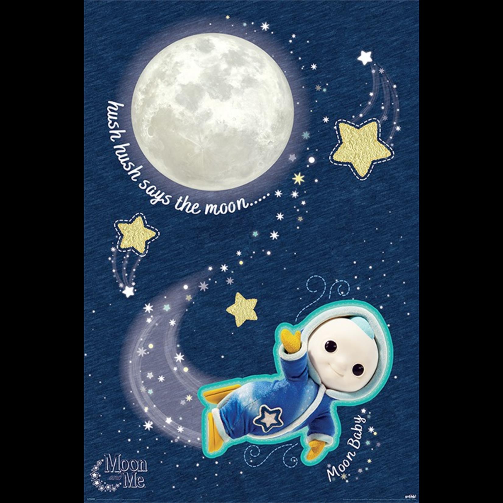 Maan en Ik Poster- Hush Hush Maan Baby