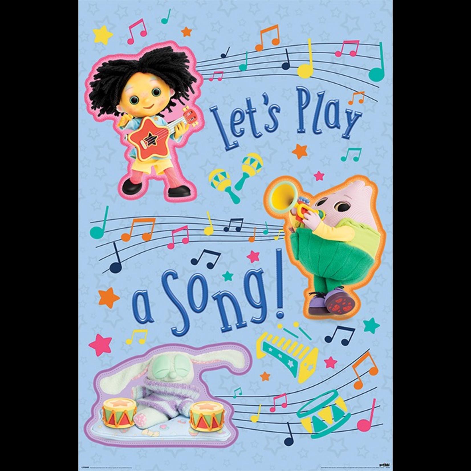 Maan en Ik Poster - Let's Play