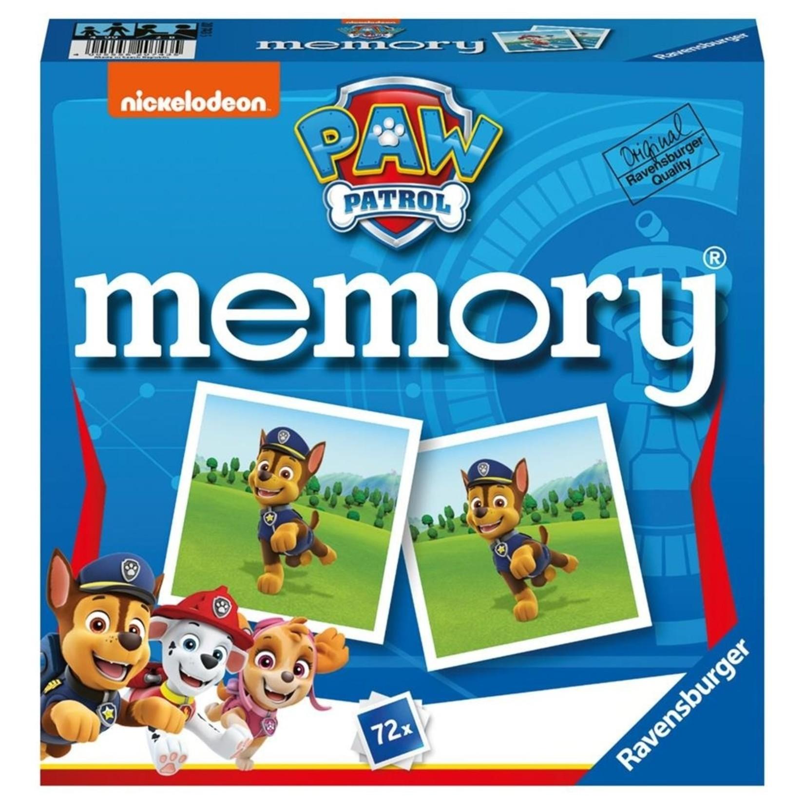 Ravensburger Paw Patrol Spel Memory